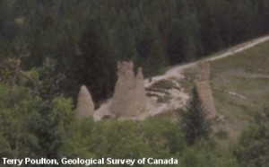 Hoodoos near Canmore